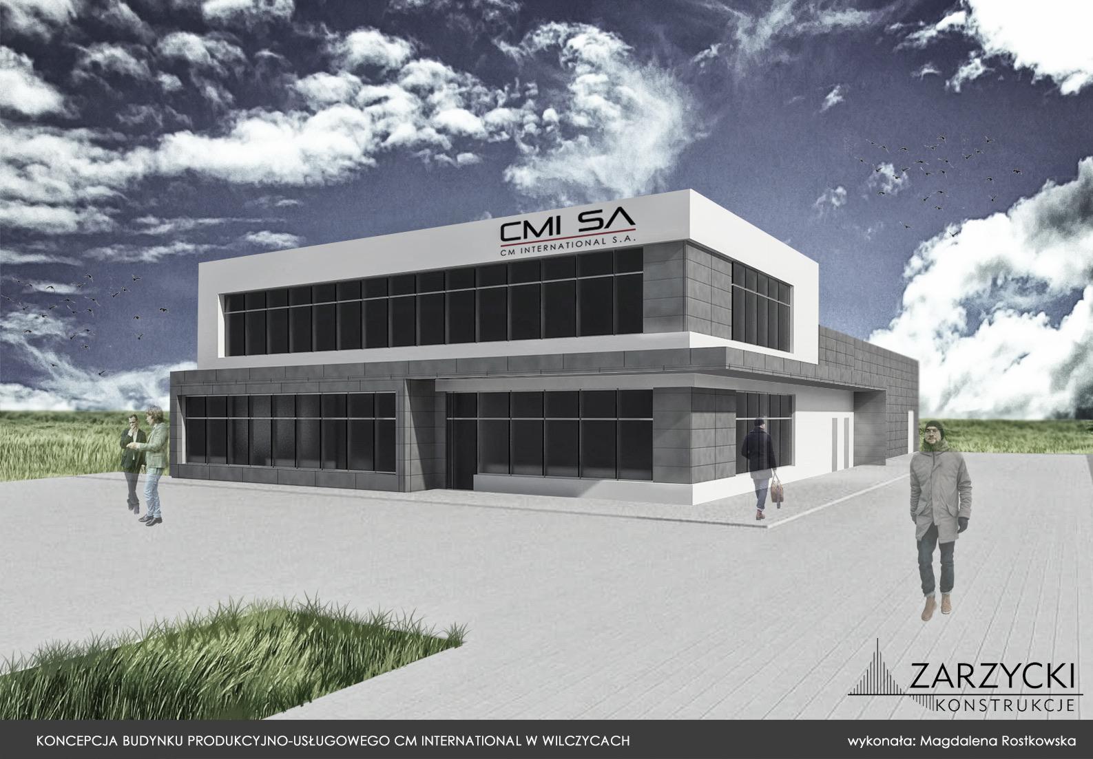 CM International inwestuje w nową siedzibę