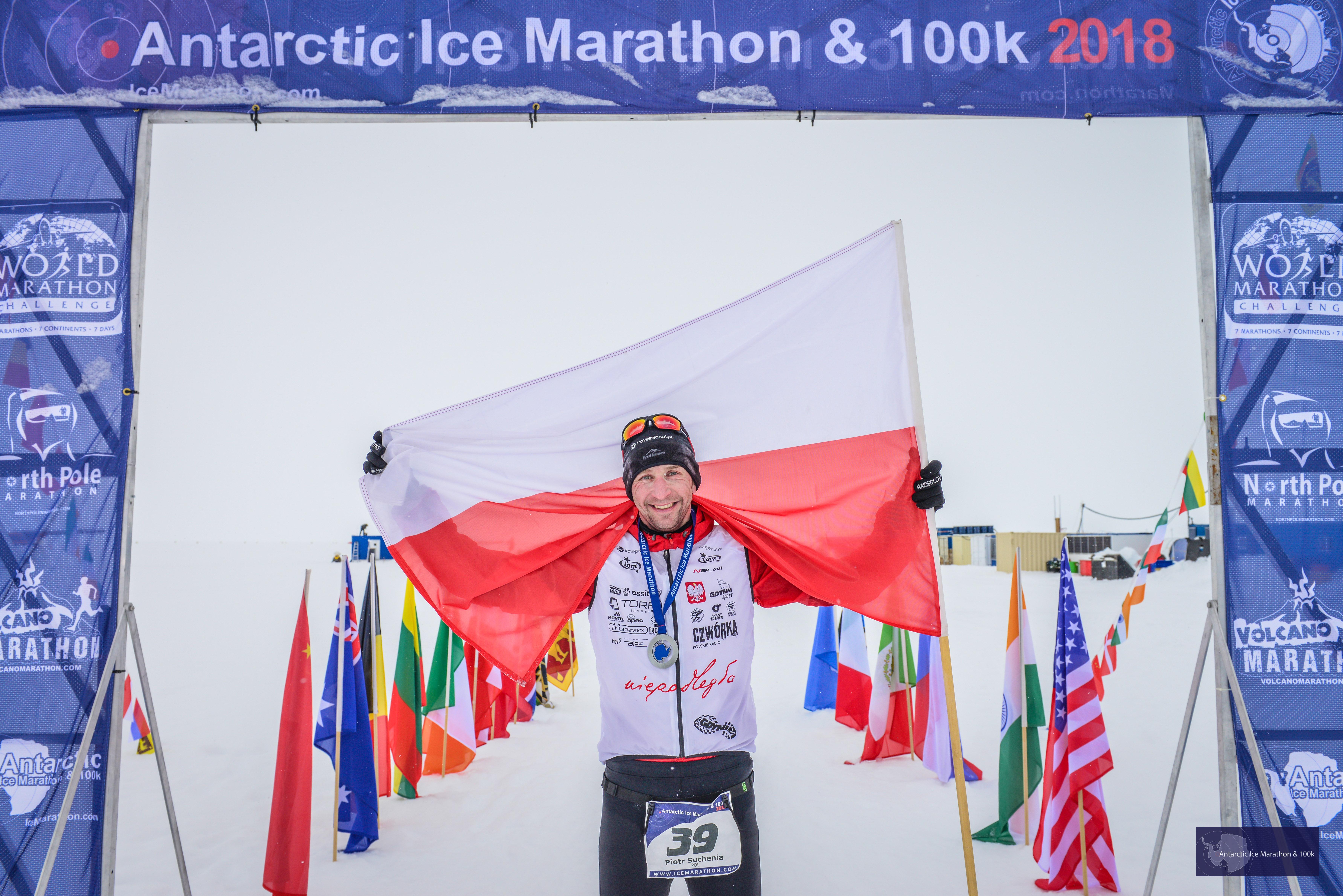 Piotr Suchenia zwycięża na Antarktydzie!